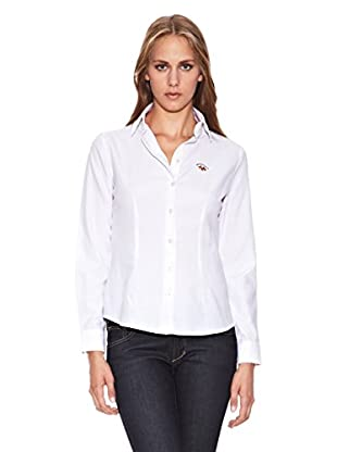 Spagnolo Camisa Oxford Trotta (Blanco)