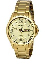 Citizen Analog Gold Dial Men's Watch - BF2002-52P