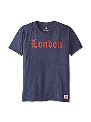 Sportiqe Men's London Crew Neck T-Shirt