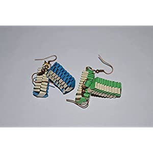 Quillings by SSE - Combo 2 Weaving Hangings Earring