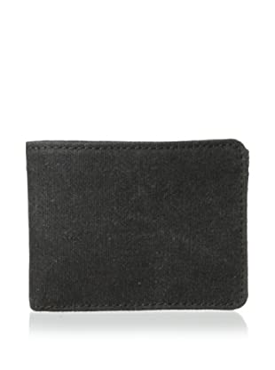 Bosca Men's Field 8-Pocket Deluxe Executive Wallet, Gray/Dark Brown