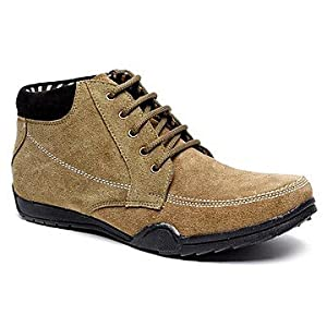 Bacca Bucci Olive Green Men Boots - vaio5