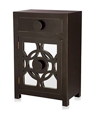 Jeffan Sumba Night Stand With Mirror