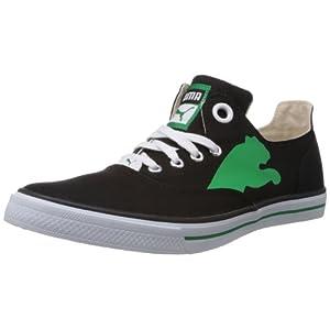 Puma Men's Limnos Cat Canvas Sneakers, Black