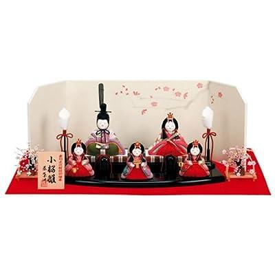 原孝洲:平飾り・五人飾「小桜雛」