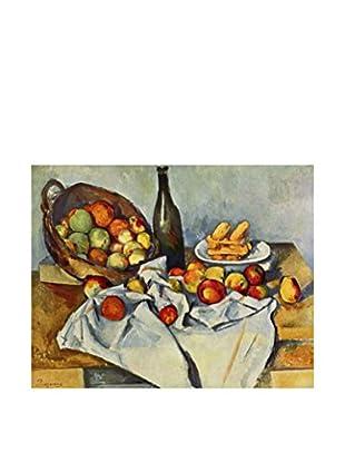 LegendArte Panel Decorativo La Cesta De Manzanas de Paul Cezanne