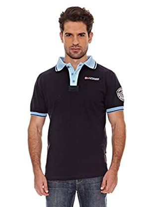 Geographical Norway Polo Manga Corta Kebo Ss Men 100 (Marino/Azul)