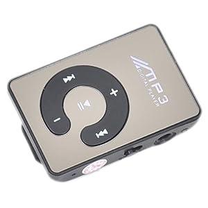 カラーボタン MP3プレーヤー ブラック