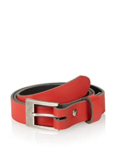 Brent Wilson The Basics Men's Slim Belt (Red)