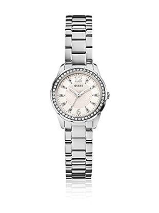 Guess Uhr mit japanischem Mechanikuhrwerk Woman Desire Silver Tone silberfarben 28 mm