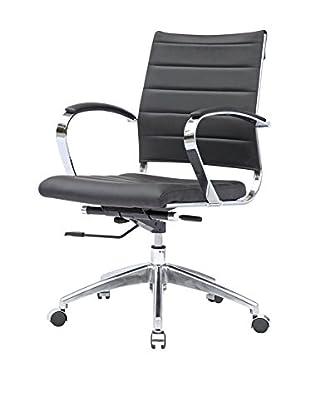 Manhattan Living Sopada Conference Office Chair, Black