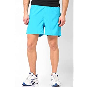 Aqua Blue Running Shorts