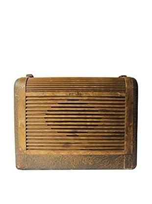 1930s Vintage Philco Radio, Brown