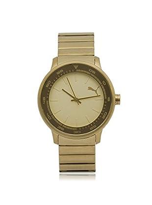 Puma Men's PU103412002 Gold Stainless Steel Watch