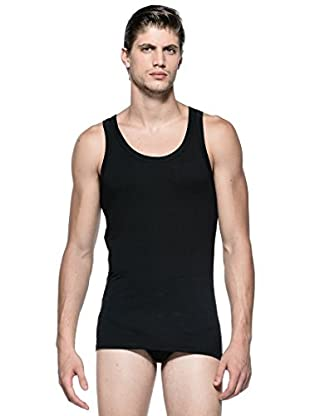 Versace Camiseta Tirantes (Negro)
