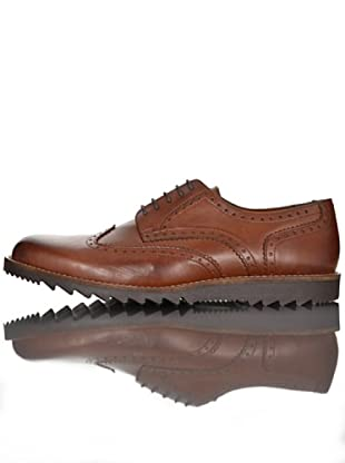 British Passport Zapatos Derby (Cognac)