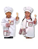 Melissa & Doug Chef Costume Deluxe Role Play Set