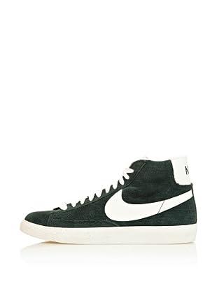 Nike Zapatillas Blazer Mid Prm Vntg Suede (Verde / Blanco)