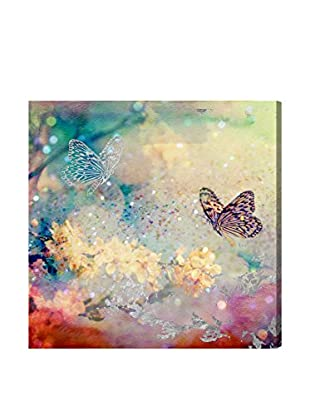 Oliver Gal Butterfly Dance Canvas Art
