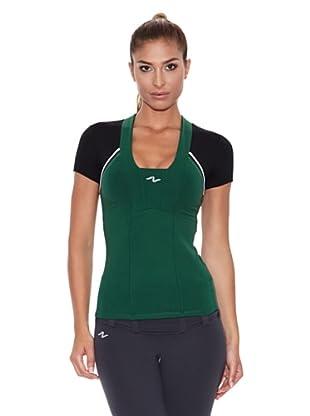 Naffta Camiseta Manga Corta Vero (Verde / Negro)