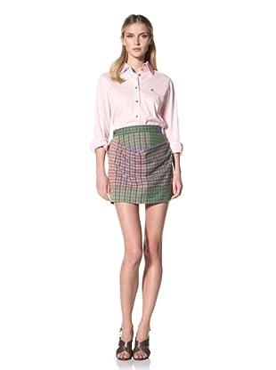 Vivienne Westwood Women's Red Label Harris Tweed Blanket Skirt (Multi)