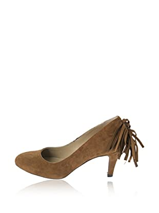 Rue Princesse Zapatos Cheyenne Fransen (Marrón)