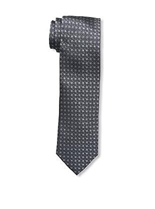 Bruno Piattelli Men's Square Tie, Grey