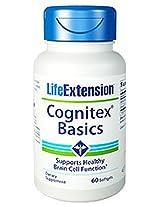 Life Extension Cognitex Basics Softgels, 60-Count