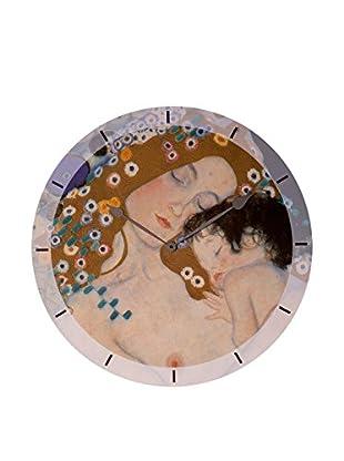 Artopweb Reloj De Pared Klimt Mother And Child