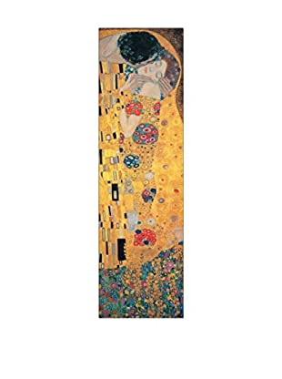 Artopweb Wandbild Klimt The Kiss 94x29 cm mehrfarbig