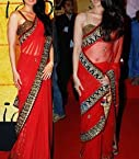 Kareena Kapoor Looks Very Beautiful In Red Saree At 3 Idiots Promotion