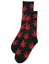 69th Avenue Men's Cotton Socks (Black)