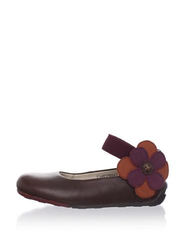 umi Kid's Panache Ballet Flat (Toddler/Little Kid) (Cocoa)