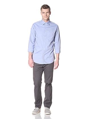 Mason's Men's Oxford Cloth Shirt (Blue)