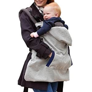 Infantino Hoodie Universal All Season Carrier Cover (Gray)