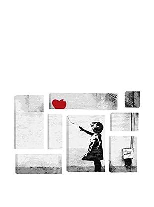 Banksy Girl With A Balloon 8-Piece Giclée On Canvas