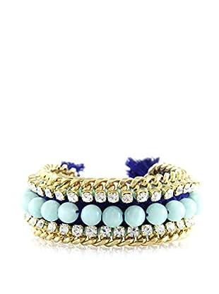 Ettika Mint & Blue Bodacious Bracelet