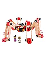 Maxim Wud Workers 230 Piece Spider Hawk with 2 Figures
