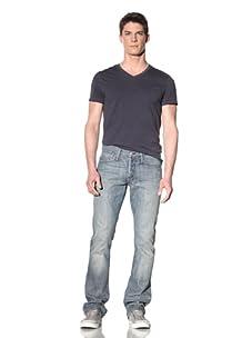 Earnest Sewn Men's Ace Slight Bootcut Jean (Morrissey)