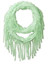 Accessories 22 Girls' Chip Jersey Fringe Loop Scarf