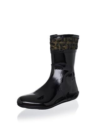 Fendi Women's Ankle Boot (Nero/Tobacco)
