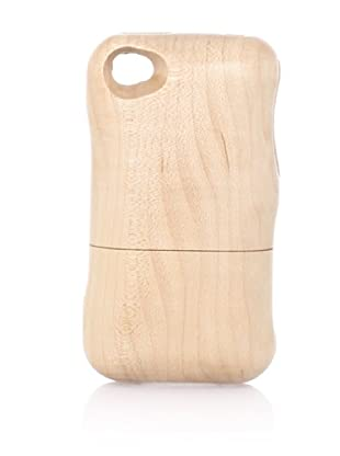 Real Wood iPhone 4/4S Case, Plain, Maple