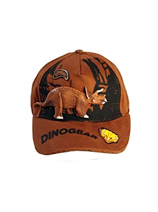 Dinosoles Gorra Triceratops (Marrón)