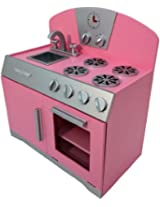 Pink Retro Cooking Range with Sink