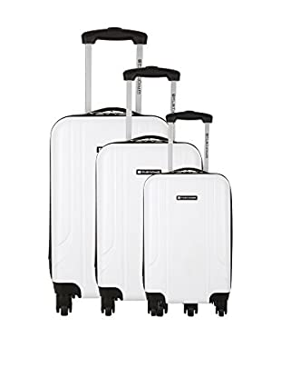 PLATINIUM Set de 3 trolleys rígidos Canoa