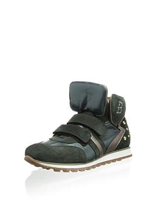 Berdini Kid's 4538 Fashion Sneaker (Green)