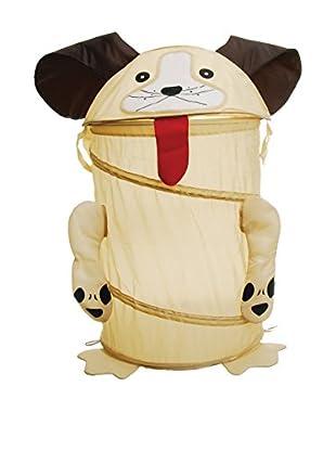 Spielzeugbox Hund 40 x 53 cm weiß