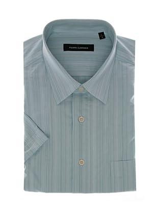 Pierre Clarence Camisa de manga corta (Azul)