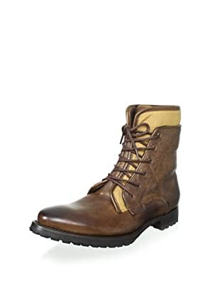 JD Fisk Men's Lukas Lace-Up Boot (Chocolate Leather)