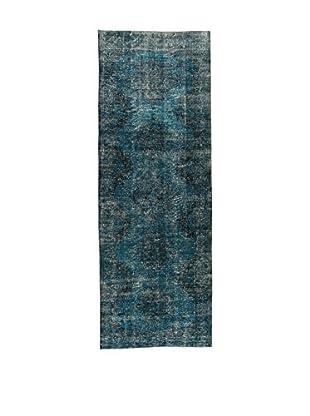 Design Community By Loomier Teppich Anatolian Vintage blau 140 x 392 cm